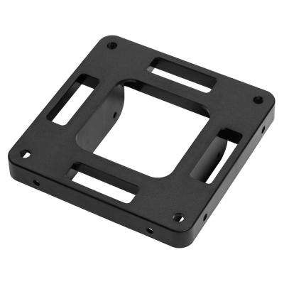 Quick Mailbox 4 in. x 4 in. Post Adapter