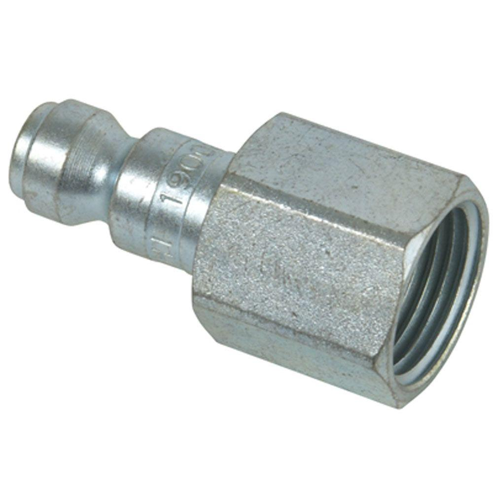 Hitachi 3/8 in. x 1/4 in. NPTF Automotive Plug Fitting