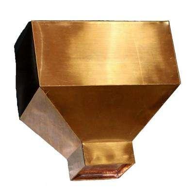 Industrial Copper Conductor Head with a 4 in. Round Outlet