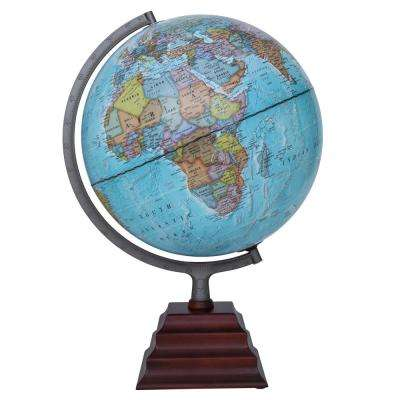 Pacific II Illuminated 12 in. Desktop Globe