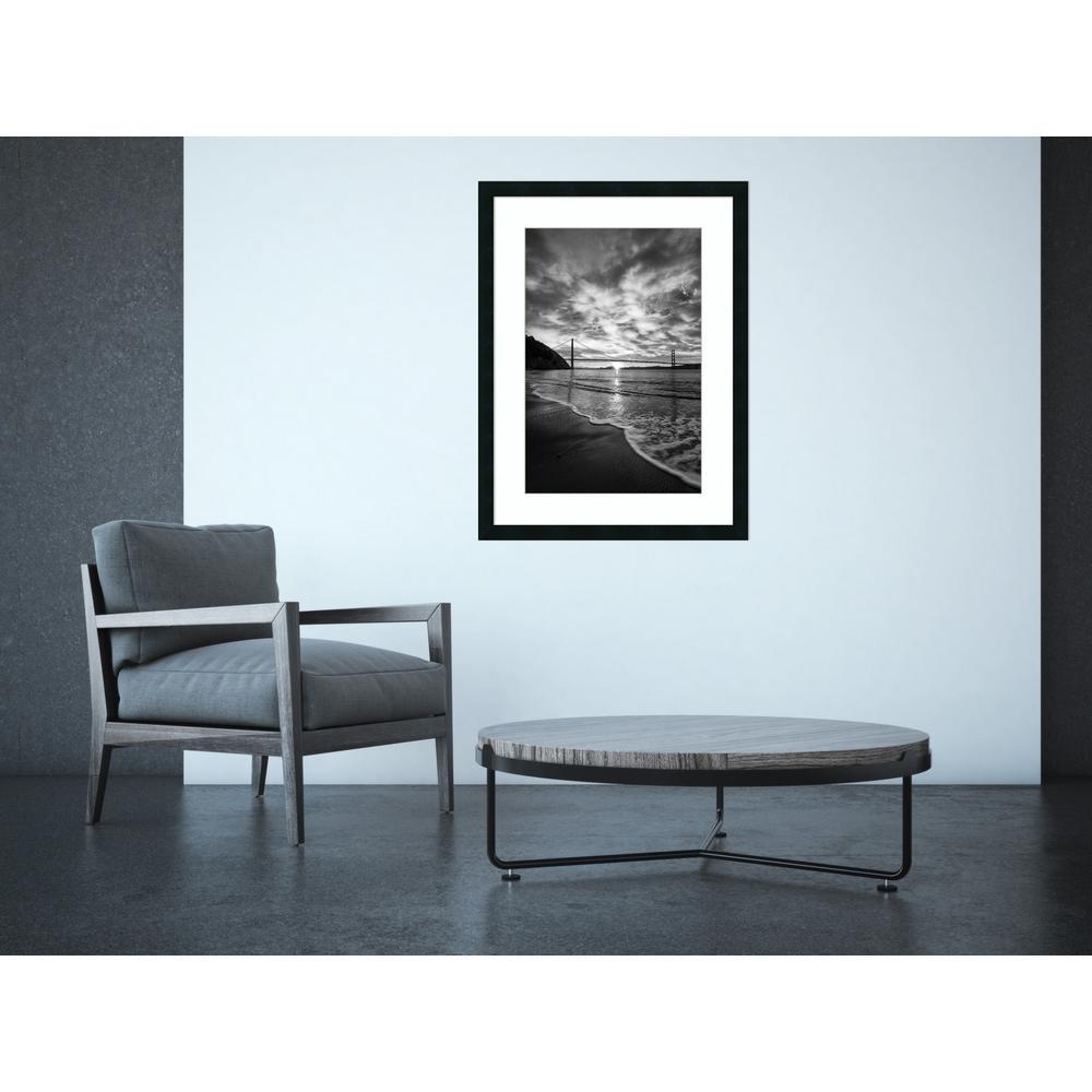 "24 in. W x 32 in. H ""Beacon (Seashore)"" by Dave Gordon Framed Art Print"