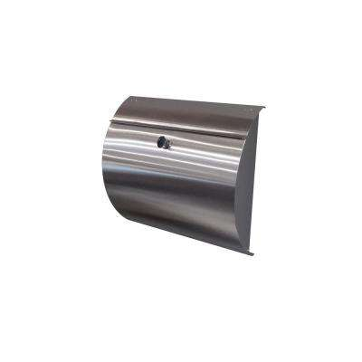 Spira Stainless Steel Wall Mount Locking Mailbox
