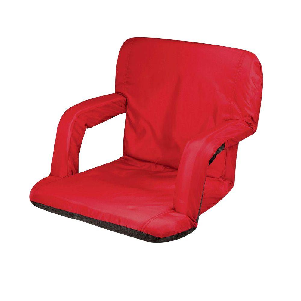 Picnic Time Red Ventura Seat Portable Recreational Recliner  sc 1 st  The Home Depot & Picnic Time Red Ventura Seat Portable Recreational Recliner-618-00 ... islam-shia.org