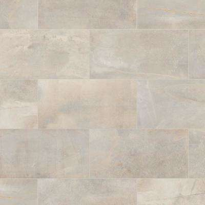 Developed By Nature Pebble 12 In X 24 Glazed Porcelain Floor And Wall