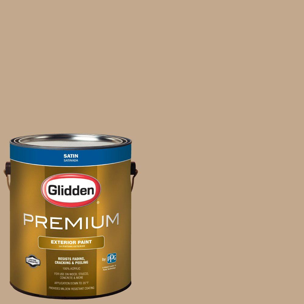Hdgwn20u Highland Plains Neutral Satin Latex Exterior Paint