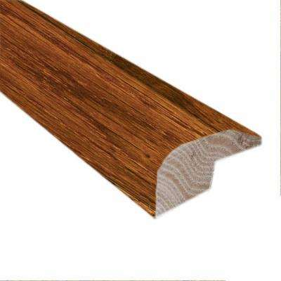 Bronzed Fossil 0.88 in. Thick x 2 in. Wide x 78 in. Length Hardwood Carpet Reducer/Baby Threshold Molding