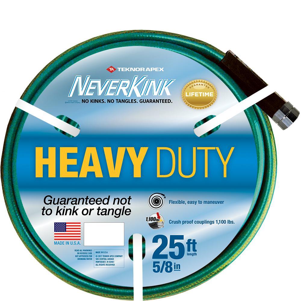 5/8 in. Dia x 25 ft. Heavy Duty Water Hose