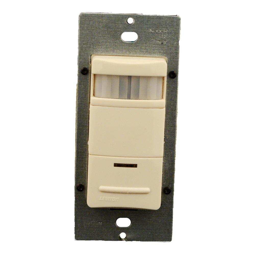 Leviton decora commercial grade passive infrared single pole 2100 sq leviton decora commercial grade passive infrared single pole 2100 sq ft 180 aloadofball