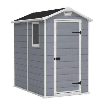 Manor 4 ft. x 6 ft. Outdoor Storage Shed