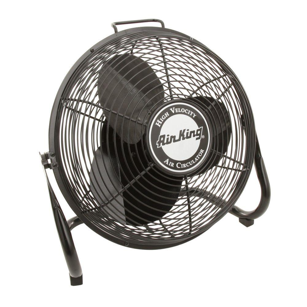 Air king high velocity 14 in floor fan 9214 the home depot for 1 20 hp electric motor