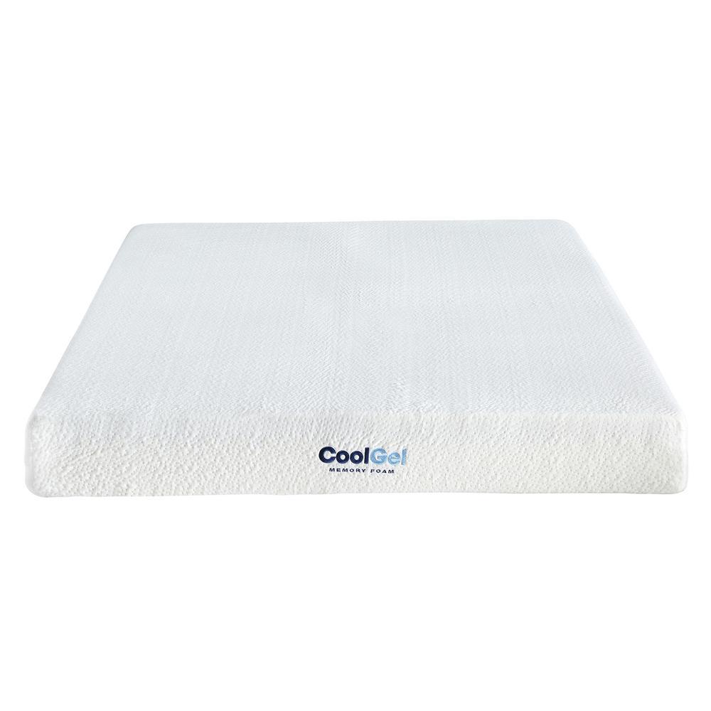 Cool Gel Ventilated Gel Memory Foam Short Queen 8 Inch Mattress