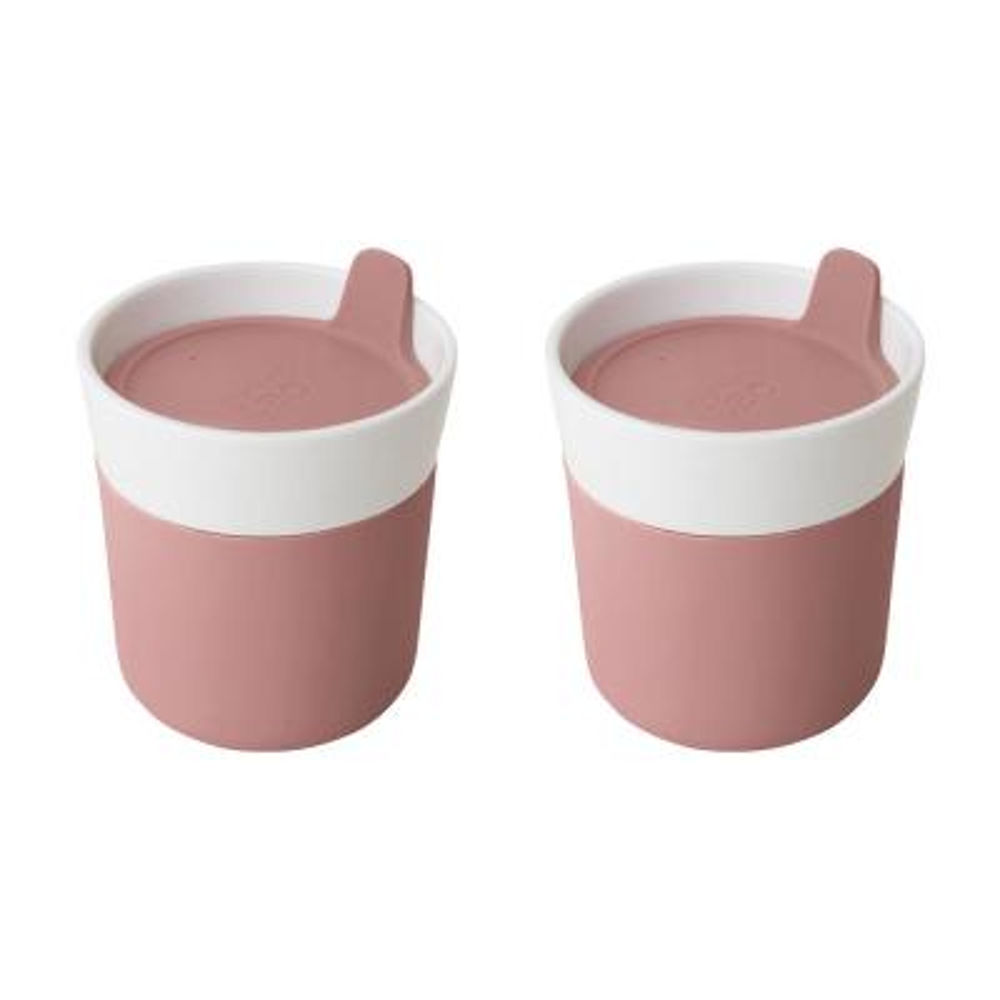 Leo 8.45 oz Porcelain Travel Mug (Set of 2)