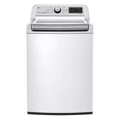 5.0 cu. ft. White Top Load Washing Machine with TurboWash 3D