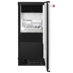 KitchenAid 15 in. 51 lbs. Built-In or Freestanding Ice Maker in ...