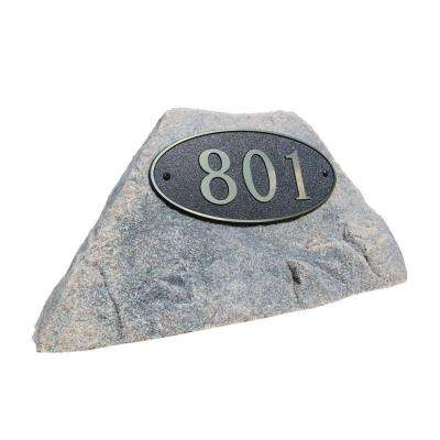 24 in. L x 12 in. W x 12 in. H Small Plastic Rock Cover in Brown/Black