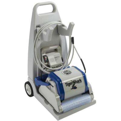 Tiger Shark Robotic Pool Cleaner with Cart