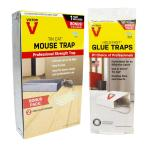 Tin Cat Mouse Trap with 10 Glue Boards