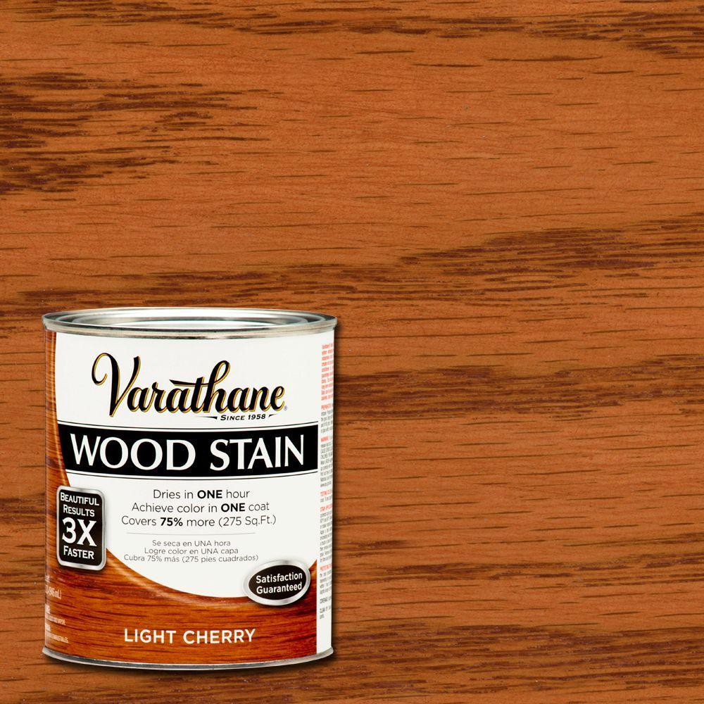 Varathane 1 Qt Light Cherry Premium Fast Dry Interior Wood