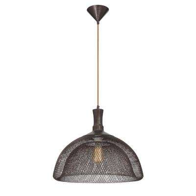 Filo Collection 1-Light Large Bronze Pendant