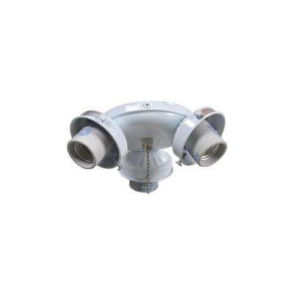 Brookhurst 52 in. White Ceiling Fan Replacement Light Kit