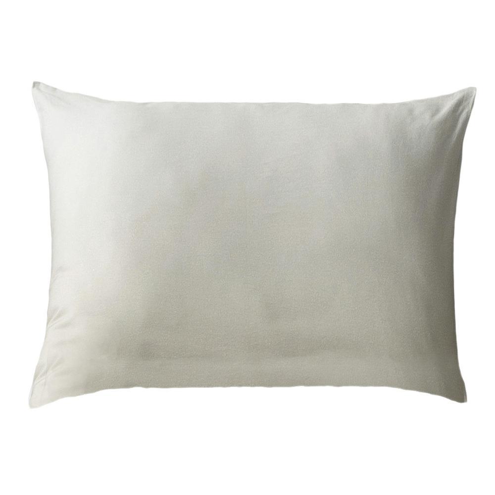 Humus Reversible Print Beige 100% Organic Cotton Queen Sham (Set of 2)