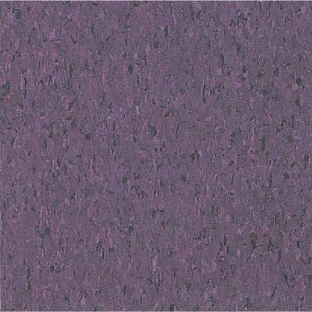 Take Home Sample Imperial Texture Vct Tyrian Purple Standard Excelon Commercial Vinyl Tile 6 In X