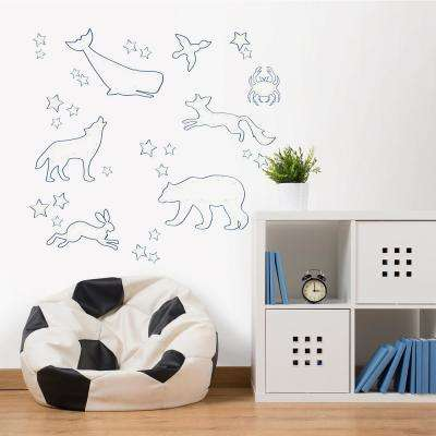 Reach for the Stars Glow in the Dark Wall Art Kit