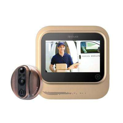 VEIU Smart Video Door Bell, Copper