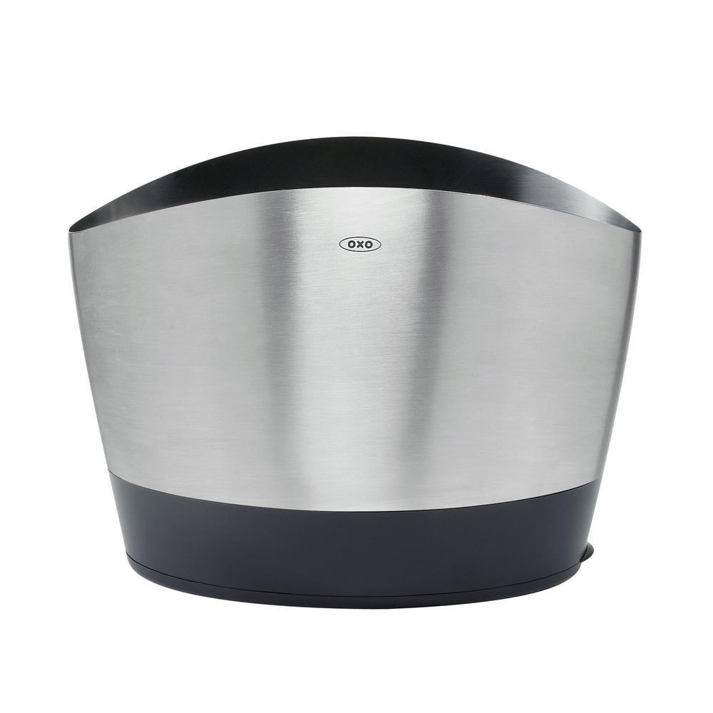OXO Good Grips Brushed Stainless Steel Utensil Holder