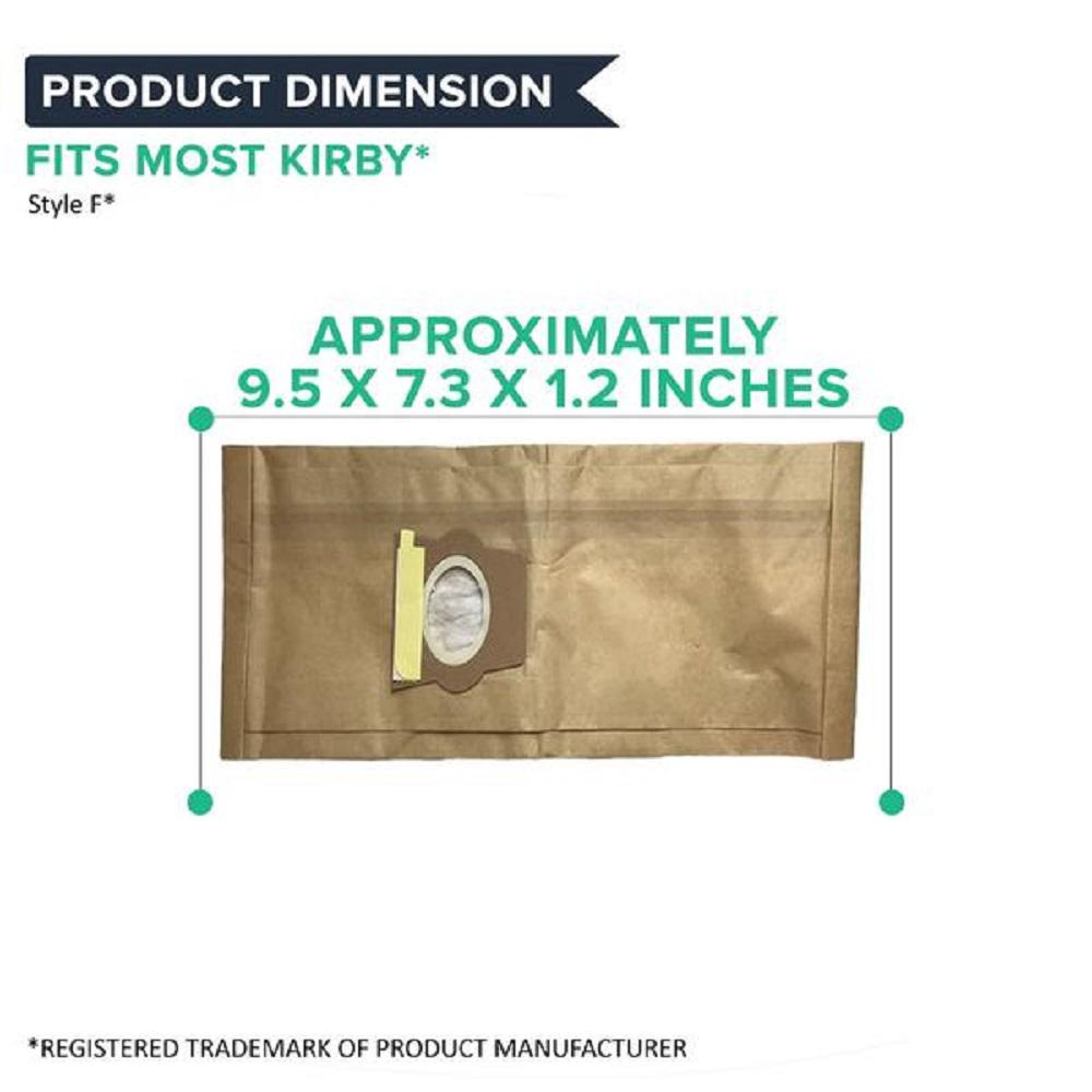 6 Replacements F Cloth Bags Part # 204808 /& 205808
