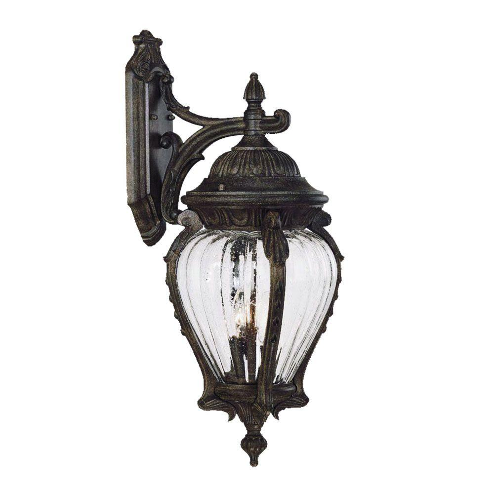 Acclaim Lighting Nottingham Collection 3 Light Black Coral Outdoor