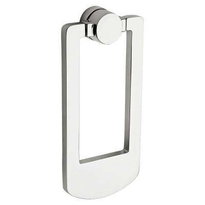Polished Chrome Contemporary Door Knocker