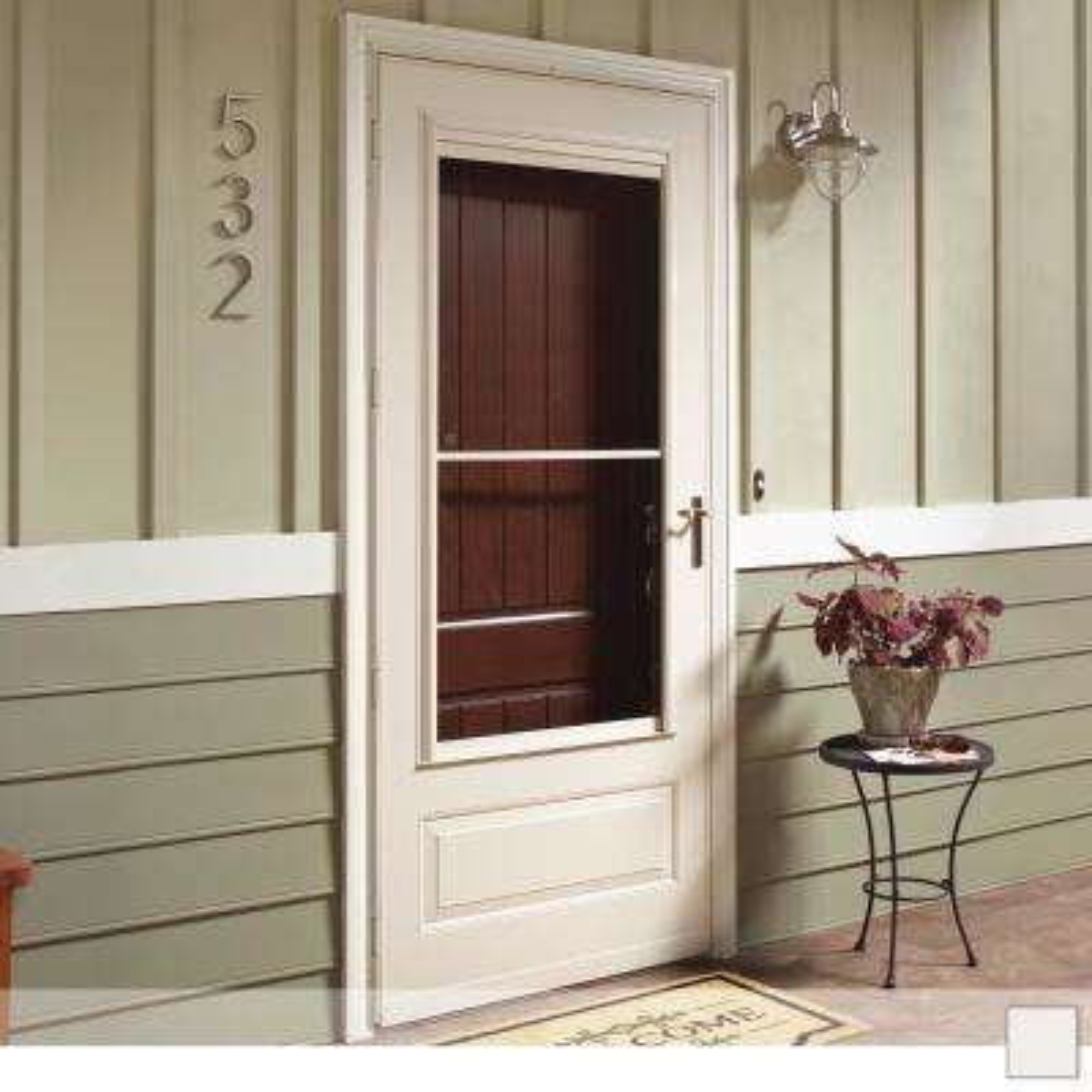 300 Series 3/4 View Self-Storing Storm Door