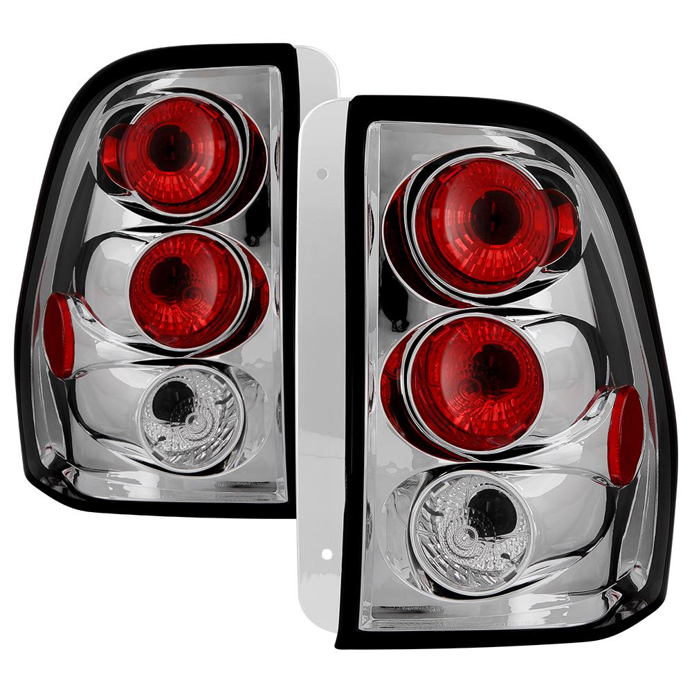 Chevy Trailblazer 02 09 Euro Style Tail Lights Chrome