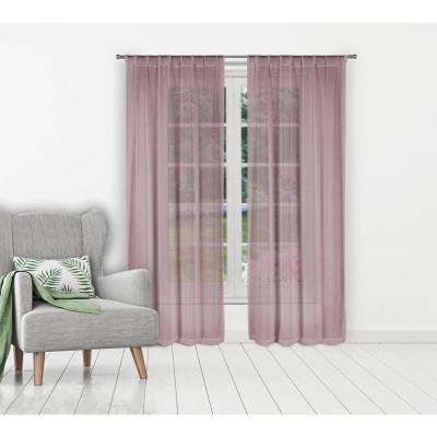 Kaylynn Lilac Pole Top Panel Pair - 37 in. W x 96 in. L in (2-Piece)