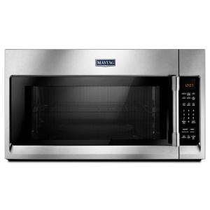 Maytag 30 inch W 2.0 cu. ft Over the Range Microwave Hood in Fingerprint Resistant Stainless Steel by Maytag