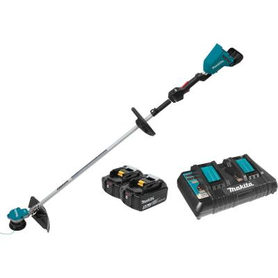 18-Volt X2 (36-Volt) LXT Lithium-Ion Brushless Cordless String Trimmer Kit with 2 Batteries 5.0Ah and Charger