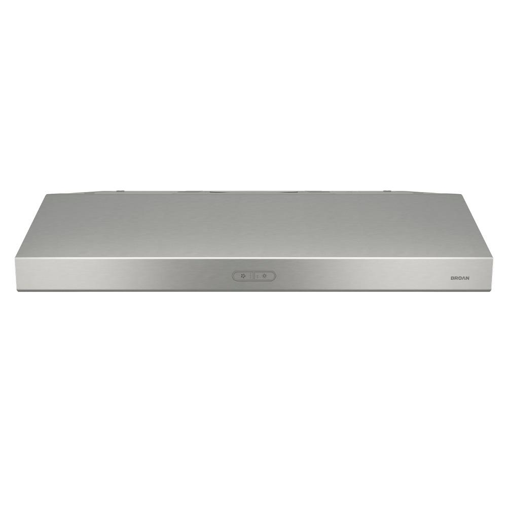 Glacier Deluxe 36 in. Convertible Under Cabinet Range Hood with Light