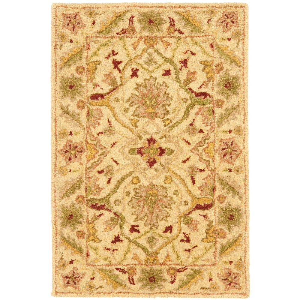 Antiquity Ivory 2 ft. x 3 ft. Area Rug