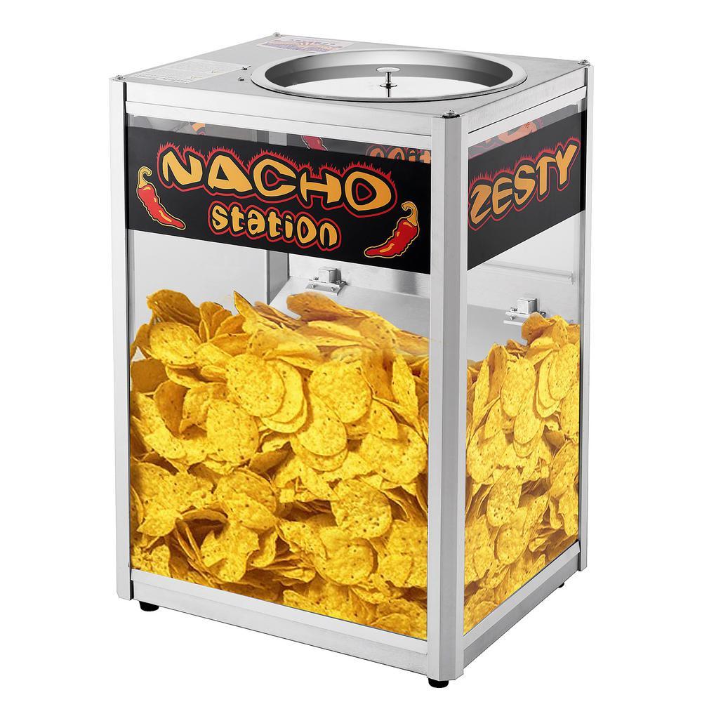 8 oz. Popcorn and Nacho Machine - Commercial Grade Nacho Warmer Station