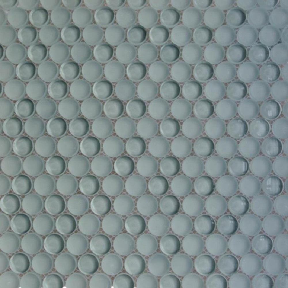 Splashback Tile Contempo Grey Circles 11-1/2 in. x 12 in. 8 mm ...