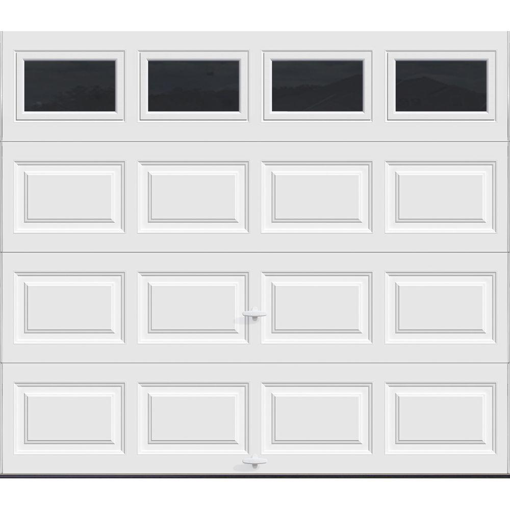 garage door 9x7Clopay Premium Series 9 ft x 7 ft Intellicore R129 Insulated