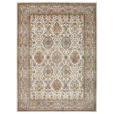 Oakmont Gold 9 ft. 6 in. x 12 ft. 11 in. Indoor/Outdoor Area Rug