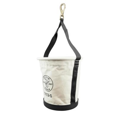 12 in. Tapered-Wall Tool Bucket with Swivel Snap