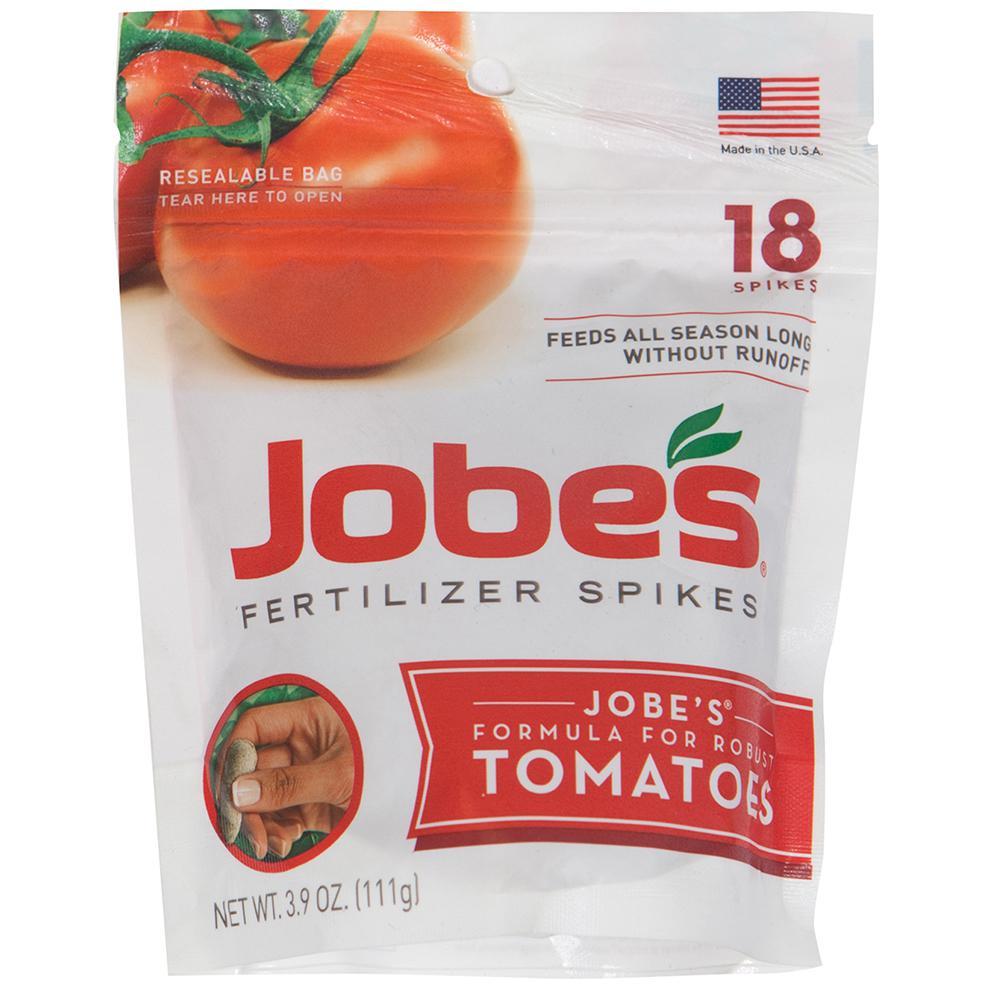 3.9 oz. Tomato Plant Food Fertilizer Spikes, (18-Pack)