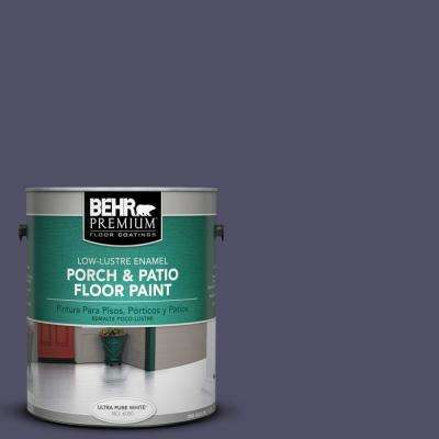 1 gal. #PPU16-19 Mardi Gras Low-Lustre Porch and Patio Floor Paint