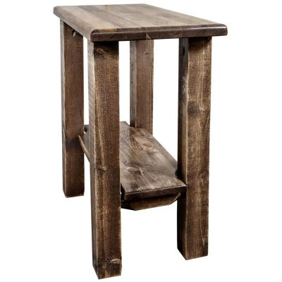 Homestead Collection Early American Chair Side Table