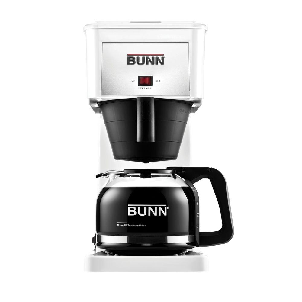 white bunn coffee makers 38300 0061 64_1000 bunn grw 10 cup home coffee brewer 38300 0061 the home depot