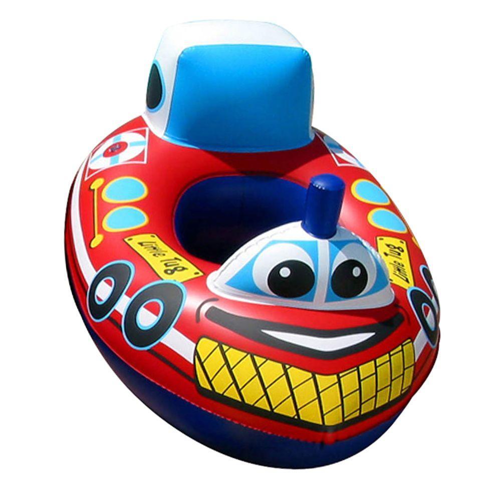 Poolmaster Tug Boat Baby Rider Pool Float, Multi
