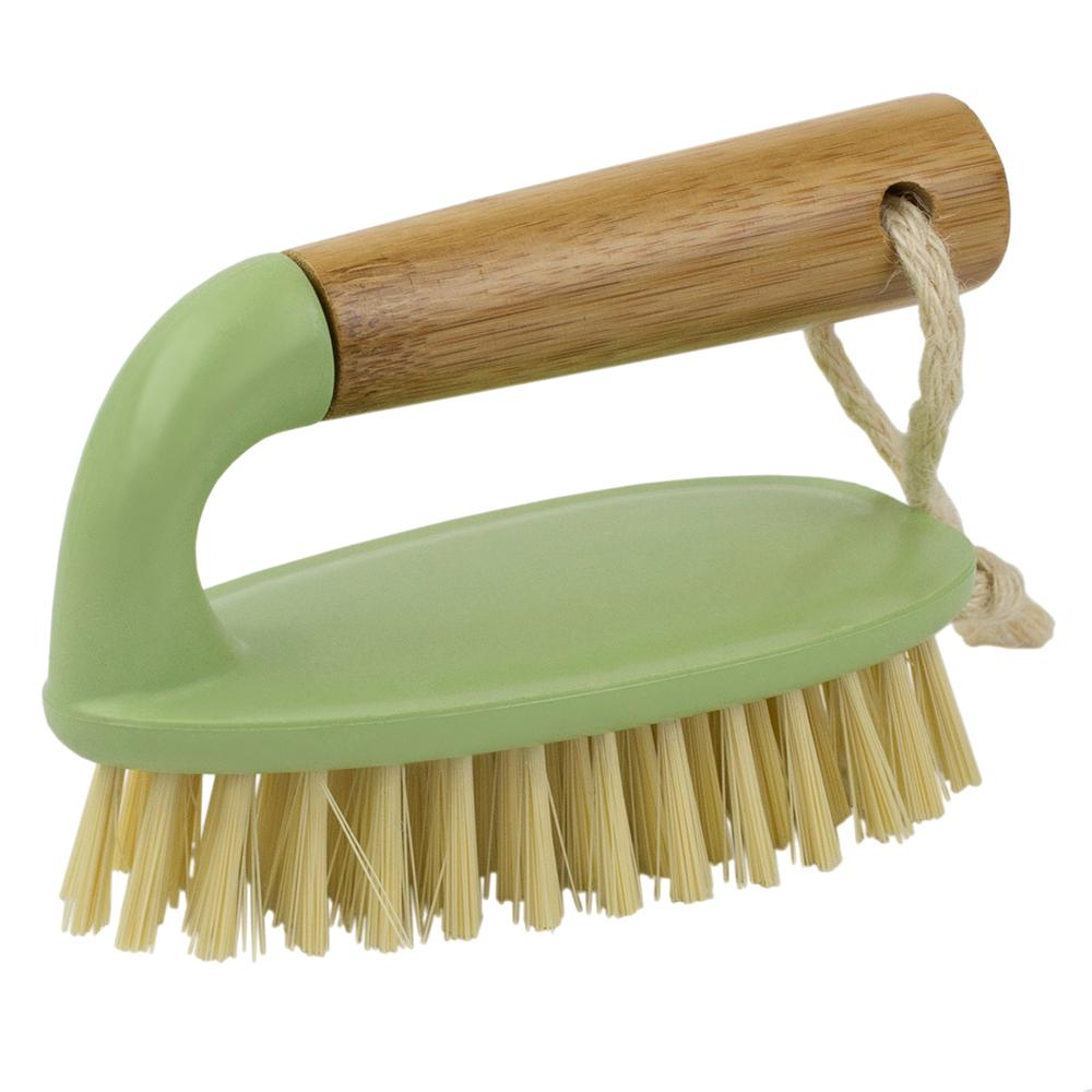 Bliss Collection Scrub Brush with Bamboo Handle